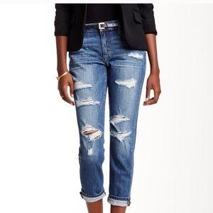 Joes boyfriend slim crop jeans size 24